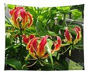 Gloriosa Named Rothschildiana Tapestry