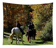 Riding Soldiers Tapestry
