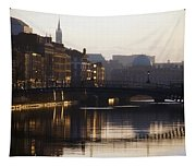 River Liffey, Dublin, Co Dublin, Ireland Tapestry