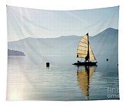 Sailing Boat Tapestry