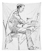 Sergei Rachmaninoff Tapestry