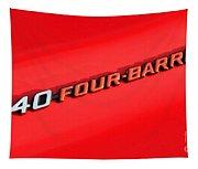 340 Four Barrel Tapestry