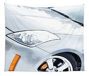 350z Car Front Close-up  Tapestry