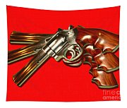 357 Magnum - Painterly - Red Tapestry