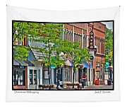 Downtown Willoughby Tapestry