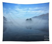 Foggy Lake Tapestry