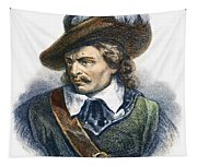 Oliver Cromwell (1599-1658) Tapestry
