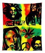 4 One Love Tapestry