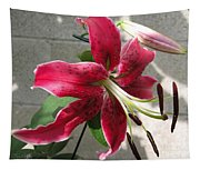 Orienpet Lily Named Scarlet Delight Tapestry
