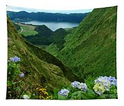 Sete Cidades - Azores Tapestry