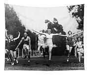 Silent Film Still: Sports Tapestry