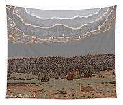 Snowy  Landscape Tapestry