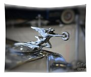 41 Packard Hood Ornament Tapestry