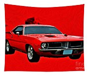 440 Charger Tapestry