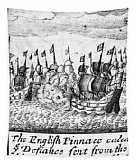 Spanish Armada, 1588 Tapestry