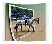 4h Horse Competition Tapestry