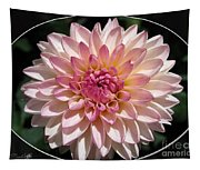 Dahlia Named Valley Porcupine Tapestry