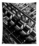 Lloyd's Building London Abstract  Tapestry