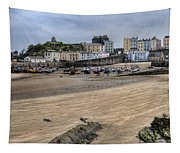 Tenby Harbour From North Beach Tapestry