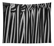 5 Ties In Black And White Tapestry