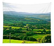 50 Shades Of Green Tapestry
