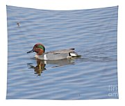 Green Wing Teal Tapestry