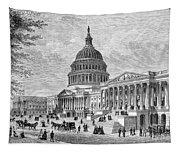 U.s. Capitol Tapestry