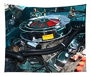 65 Plymouth Satellite Engine-8482 Tapestry