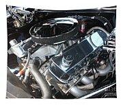 67 Black Camaro Ss 396 Engine-8033 Tapestry