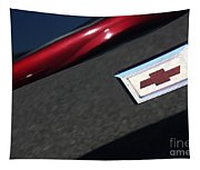 67 Black Camaro Ss Bow Tie Tapestry