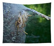 Bird-cherry Ermine Caterpillars Tapestry