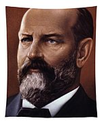 James A. Garfield (1831-1881) Tapestry
