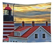 West Quoddy Head Lighthouse 3822 Tapestry