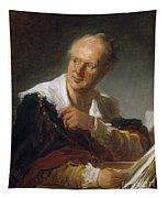 Denis Diderot (1713-1784) Tapestry