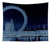 London Eye Art Tapestry