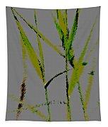 Water Reed Digital Art Tapestry