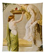 A Basket Of Roses - Grecian Girls Tapestry