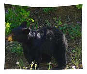 A Bear Cub Tapestry