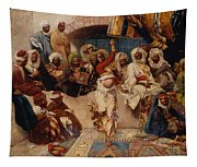 A Captive Audience Tapestry