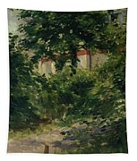 A Corner Of The Garden In Rueil Tapestry