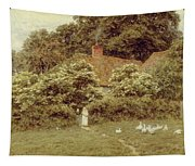 A Cottage At Farringford Isle Of Wight Tapestry