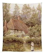 A Cottage Near Haslemere Tapestry