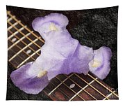A Flower Music And Romance Tapestry