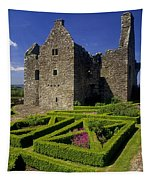 A Garden In Front Of Tully Castle Near Tapestry