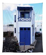 A House In El Golfo Tapestry