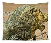 A Lion In Summer Tapestry