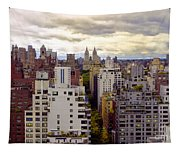 A Manhattan View Tapestry