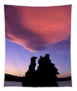 A Mono Lake Sunset Tapestry