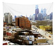 A Philadelphian View Two Tapestry