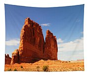 A Rock At Arches Tapestry